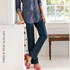 J Jill |  Tried And True Slim Leg Jean